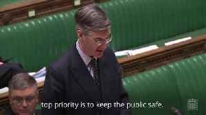 Jacob Rees-Mogg announces debate on emergency laws to keep terrorists behind bars [Video]