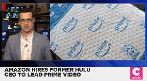 News video: Amazon Hires Former Hulu CEO to Lead Prime Video