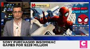 Sony Purchases Insomniac Games for $229 Million [Video]