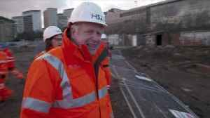 News video: Boris Johnson: HS2 go-ahead controversial and difficult