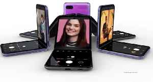 News video: Samsung unveils its new foldable phone, the Galaxy Z Flip