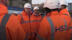 News video: Boris Johnson: HS2 will make huge difference to people's lives