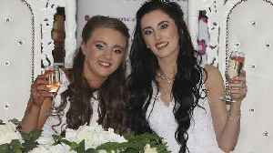 First same-sex couple ties the knot in Northern Ireland [Video]