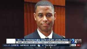 Family of slain Lt. Richard Collins III push for tougher hate crime laws [Video]