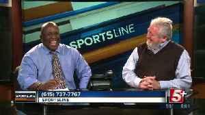 Greg Pogue joins Jon Burton on SportsLine p1 [Video]