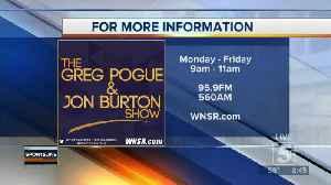 Greg Pogue joins Jon Burton on SportsLine p4 [Video]