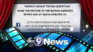 This Weeks Trivia Question [Video]