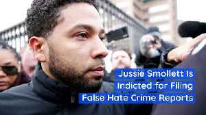 Jussie Smollett Is Indicted for Filing False Hate Crime Reports [Video]