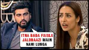 Arjun Kapoor NOT Ready To Marry Malaika Arora | Reveals SHOCKING Details [Video]
