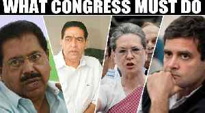Congress draws a blank, huge cut in vote share, blame game begins  | OneIndia News [Video]