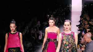 Lisa Rinna and Daughters Delilah and Amelia Hamlin Take the Runway Together at Dennis Basso NYFW Fall 2020 [Video]