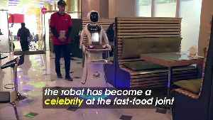 Multilingual Robot Waitress Serves up Food and Inspiration in Afghan Capital [Video]