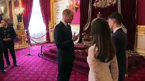 Duke of Cambridge hosts reception for police orphans fund [Video]