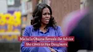 What Michelle Obama Tells Her Kids [Video]