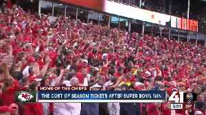 Chiefs fans accept paying more to watch Super Bowl champions in 2020 [Video]