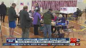 New Hampshire primary polls close [Video]