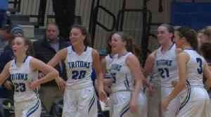 Notre Dame girls end Bay Port's winning streak at 27 [Video]
