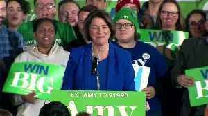 'We have beaten the odds' - Klobuchar hails strong New Hampshire finish [Video]