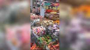 Paranoid Chinese Shopper In Full-Body Plastic Tube [Video]