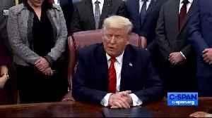 Trump talking about Vindman [Video]