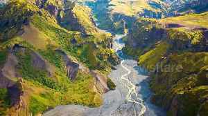 Stunning drone footage showcases Icelandic landscape where hit TV show 'Game of Thrones' was filmed [Video]