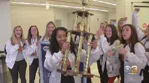 National Champion Marple Newtown High School Cheerleaders Return Home [Video]