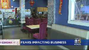 News video: Coronavirus Fears Impacting Business In Oakland's Chinatown