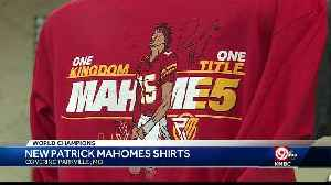Limited edition Kansas City Chiefs quarterback Patrick Mahomes Super Bowl MVP shirts released Tuesday [Video]