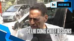 News video: Delhi polls | 'Did my best': Delhi Congress president before tendering resignation