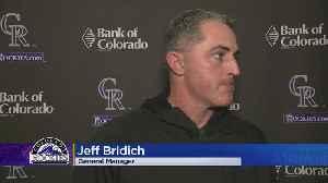 Colorado Rockies GM Jeff Bridich 'No Comment' On Nolan Arenado Feud [Video]