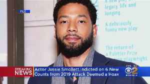 Jussie Smollett Indicted On 6 New Charges Related To Attack Police Called A Hoax [Video]