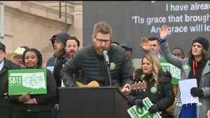 HUNDREDS RALLIED OVER ABORTION BILL [Video]