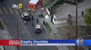 Man Fatally Shot In Highland Parking, Police Searching For 4 Suspects [Video]