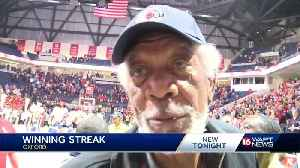 Morgan Freeman reacts to the Rebels blowout win over MSU [Video]