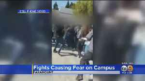 Caught On Camera: Fight Breaks Out At Paramount High School, 5 Months After Brawl [Video]