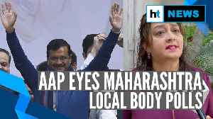 After Delhi poll triumph, AAP eyes local body polls in Maharashtra [Video]