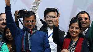 New Delhi election: Kejriwal's AAP stuns Modi's BJP with huge win [Video]