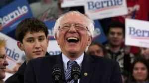 News video: Sanders 'warns Trump' after primary win