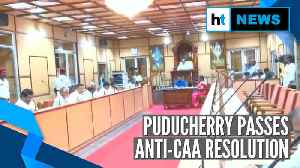 Puducherry becomes 1st Union Territory to pass resolution against CAA [Video]