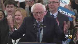 CBS News Projecting Senator Bernie Sanders As Winner Of New Hampshire Democratic Primary [Video]