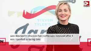 Sharon Stone's Bumble profile is back [Video]