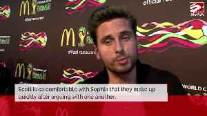 Scott Disick and Sofia Richie 'always end up fine' [Video]