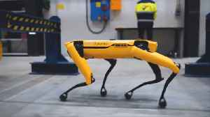 News video: Four-Legged Robot Goes To Work On Norwegian Oil Rig