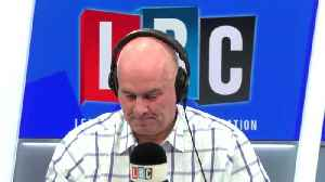 Iain Dale brands caller 'delusional' for blaming HS2 on Brexit [Video]