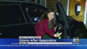 Palo Alto Woman, Daughter Return Home After 14-Day Coronavirus Quarantine [Video]
