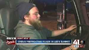 Crews pretreating roads in Lee's Summit [Video]