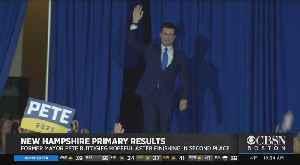 News video: Pete Buttigieg Celebrates Strong Finish In New Hampshire Primary