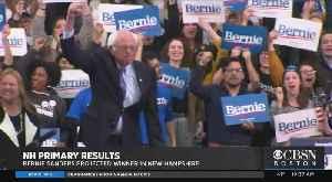 News video: Bernie Sanders Edges Pete Buttigieg To Win New Hampshire Democratic Primary