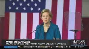 Elizabeth Warren Pledges Party Unity After 4th Place NH Primary Finish [Video]