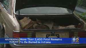 News video: Fetal Remains Found In Illinois To Be Buried In Indiana